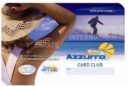 Azzurro Club Card